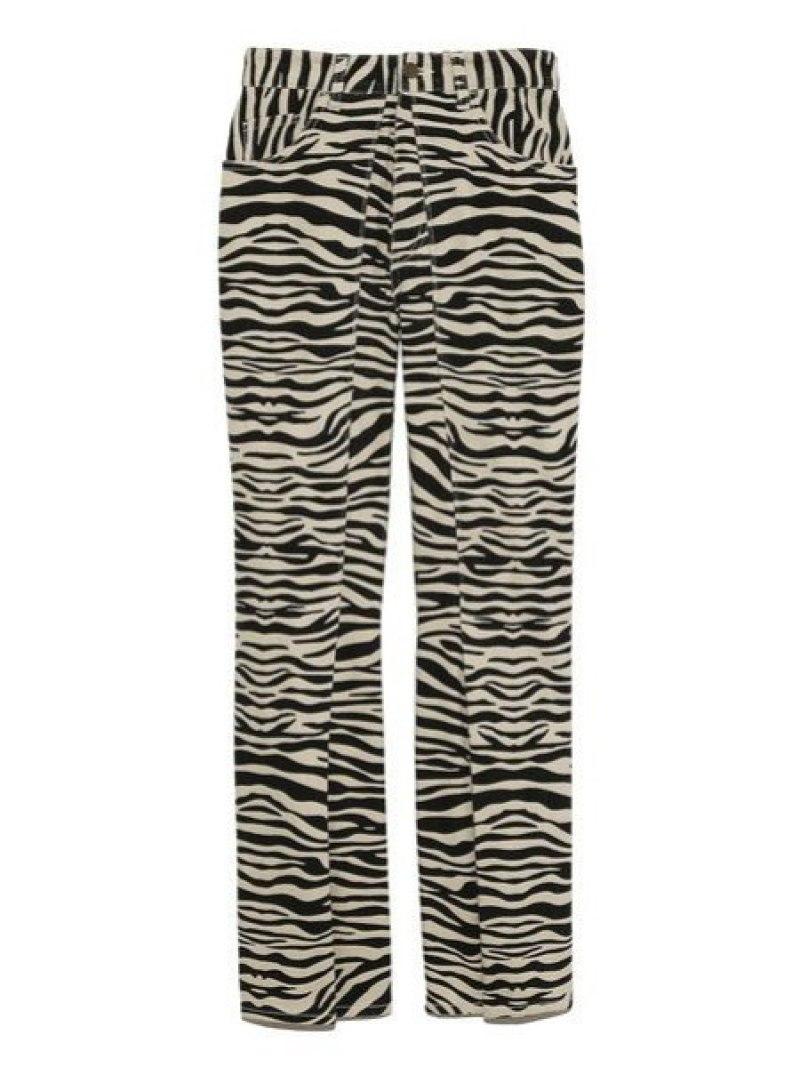 [Rakuten Fashion]デザインストレートデニムパンツ Lily Brown リリーブラウン パンツ/ジーンズ フルレングス ブラック ブルー ホワイト【送料無料】