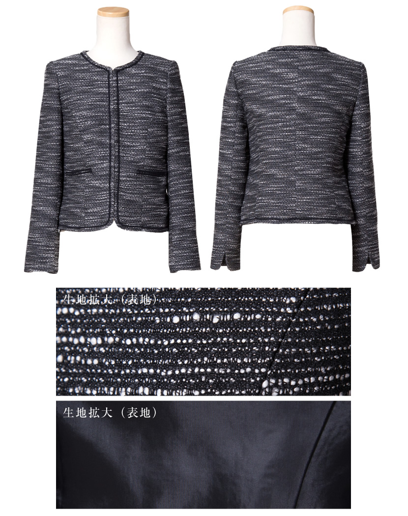 9ec7cfa0b1d81 楽天市場  入学式 スーツ ママ シャネルカラーレースワンピース ...