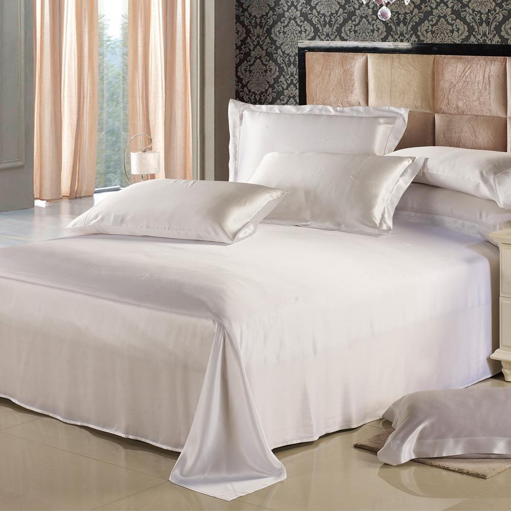 シルク シーツ フラットシーツ シルクシーツ シングルサイズ 185×275cm 19匁高級シルク シルク100% お肌に優しい 無地 送料無料