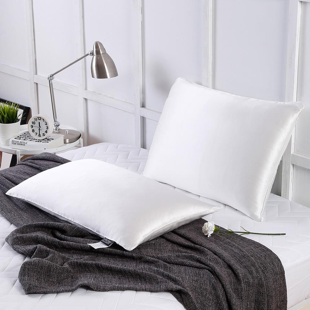 枕 シルク シルク枕 真綿 ピロー 低めタイプ 50×70cm 1キロ 安眠枕 無添加 低い枕 まくら 肩こり リリーシルク
