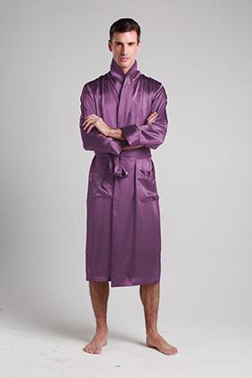 4116b881fe LILYSILK JAPAN Rakuten Shop  Plain lightweight bathrobe ROBE feel best  nightgown house coat nightwear for