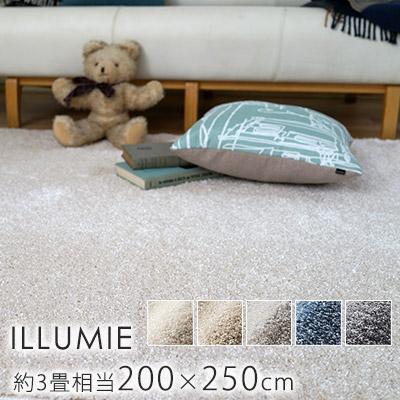 スミノエ/BIG SIZE RUG イルミエ ラグ 約200×250cm(約3畳相当)