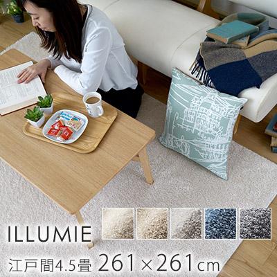 スミノエ/BIG SIZE RUG イルミエ ラグ 約261×261cm(江戸間4.5畳)