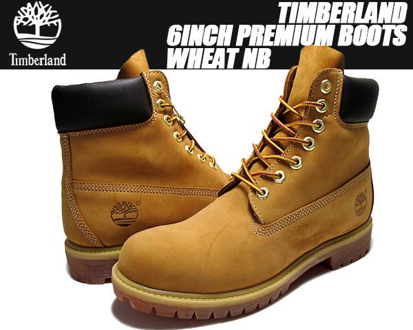 Timberland 6inch Premium Boots wheat【ティンバーランド 6インチ ブーツ ウィート イエローヌバック】