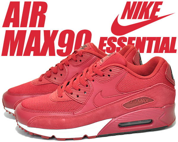 NIKE AIR MAX 90 ESSENTIAL gym red/