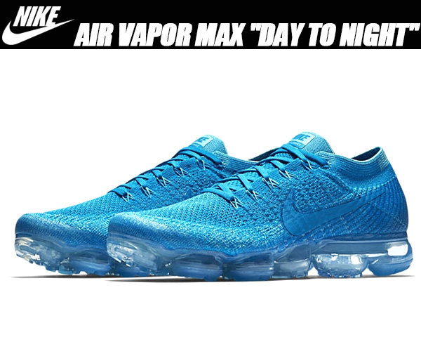 air vapormax flyknit day to night