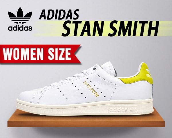 【アディダス スタンスミス 新作】adidas STAN SMITH ホワイト/イエロー ftwbla/ftwbla/jausol STAN SMITH