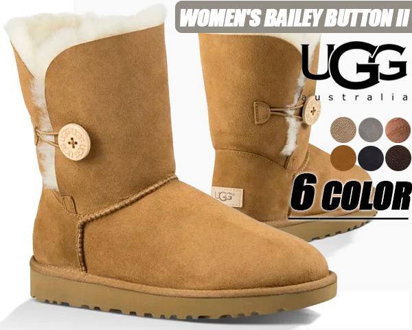 UGG WOMENS BAILEY BUTTON II 6COLOR 1016226【アグ ブーツ レディース UGG ムートンブーツ ベイリーボタン UGG ムートン】