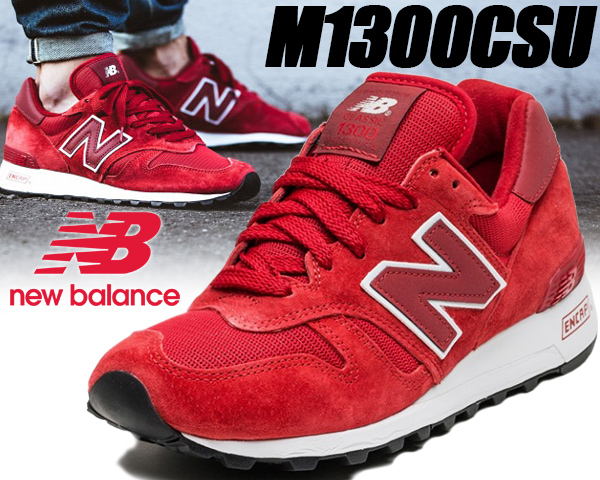 NEW BALANCE M1300CSU MADE IN U.S.A. 【ニューバランス スニーカー M1300 レッド RED NB】