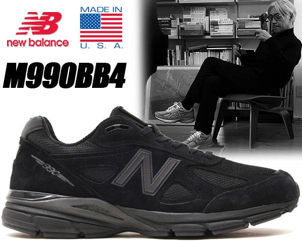 お得な割引クーポン発行中!!【ニューバランス 990】NEW BALANCE M990BB4 MADE IN U.S.A【メンズ スニーカー 靴 990 V4 NB DAD SHOES chunky チャンキー 厚底】