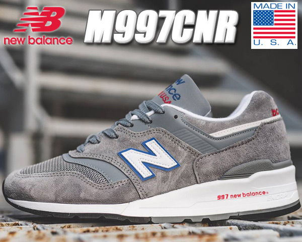 NEW BALANCE M997CNR MADE IN U.S.A.ニューバランス スニーカー 997 CNR NB グレー