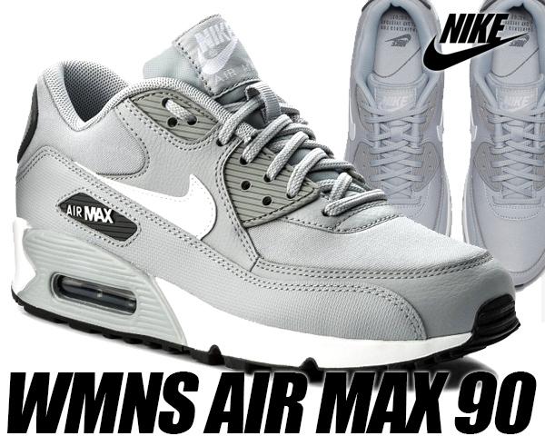 NIKE WMNS AIR MAX 90 wolf greywhite dark grey