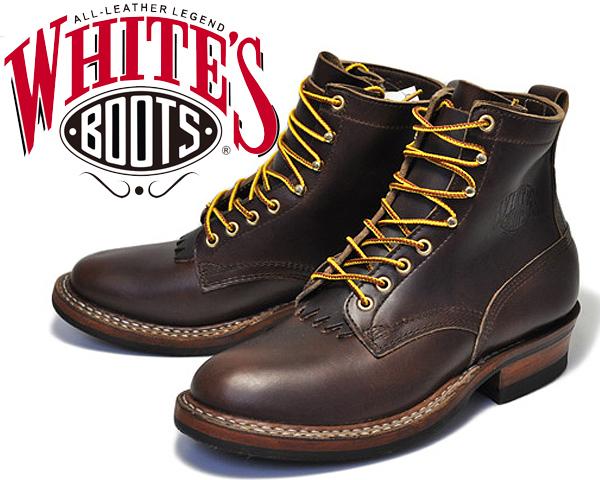 White's Boots Bounty Hunter 350W Brown Horween Chromexcel 【ホワイツ ブーツ バウンティハンター BOOTS ブーツ メンズ ワークブーツ Horween 6インチ ブーツ プレーントゥ ブラウン セミドレス フォルスタン ハンドソーンウェルテッド製法 ステッチダウン】