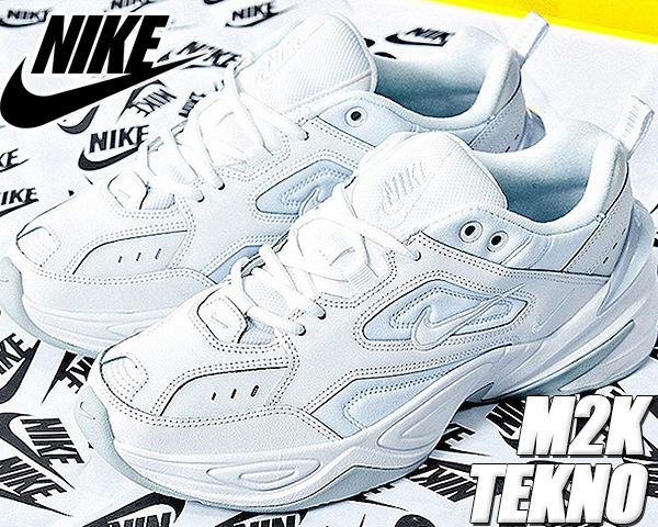 NIKE M2K TEKNO white/white-pure platinum 【ナイキ M2K テクノ スニーカー メンズ ホワイト dad shoes チャンキースニーカー 白 ホワイト ピュア プラチナム DAD】