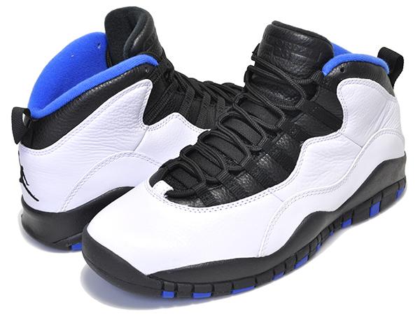 huge selection of 5bda3 3e4ec NIKE AIR JORDAN 10 RETRO ORLANDO white/black-royal blue Nike Air Jordan 10  sneakers Michael Jordan Air Jordan AJ X Orlando