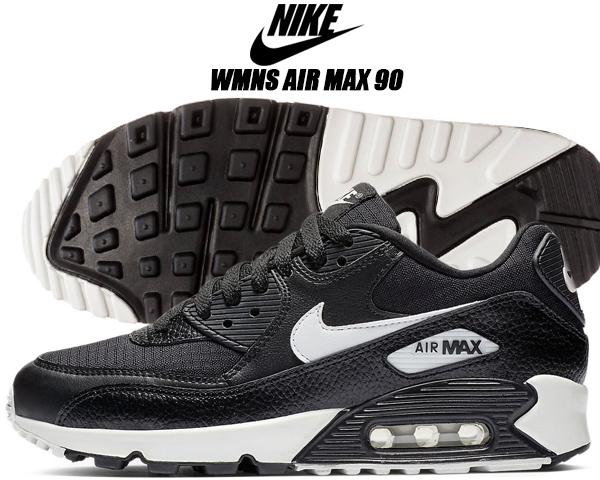 detailed look 6f46e 8ebad NIKE WMNS AIR MAX 90 black summit white-black-black ナイキ ウィメンズ エア
