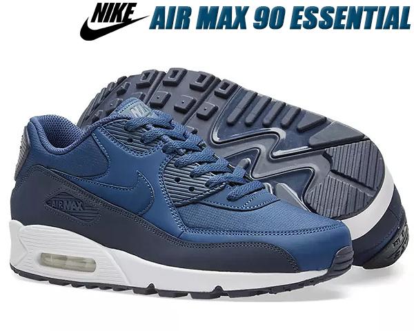 NIKE AIR MAX 90 ESSENTIAL obsidian/navy-white 537384-427 ナイキ エア マックス 90 エッセンシャル スニーカー メンズ ネイビー