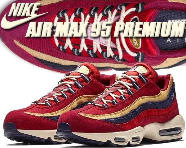 new arrival e56ad 389d5 NIKE AIR MAX 95 PREMIUM red crush/provence purple