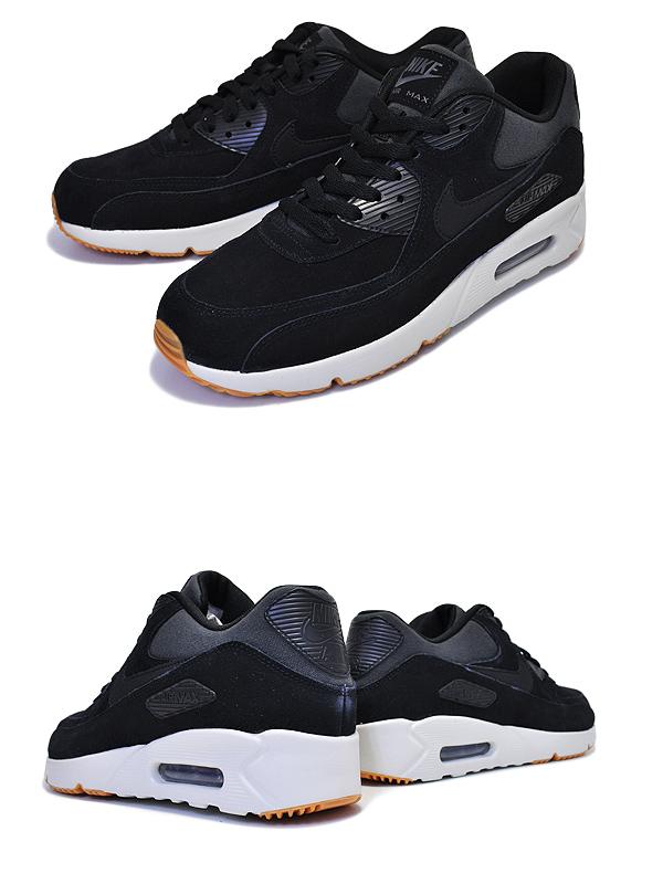 NIKE AIR MAX 90 ULTRA 2.0 LTR blackblack light bone 924,447 003 Kie Ney AMAX 90 ultra 2.0 ultra leather men sneakers black