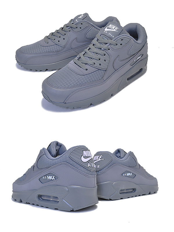 NIKE AIR MAX 90 ESSENTIAL cool greywhite aj1285 017 Kie Ney AMAX 90 cool gray sneakers essential
