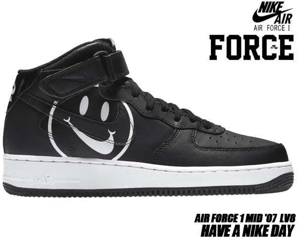 size 40 1ebd5 c85e9 NIKE AIR FORCE 1 MID HAVE A NIKE DAY black black-white ao2444-001 ナイキ  エアフォース 1 ミッドナイキ エアフォース 1 ミッド スニーカー ハブ ア ナイキ デイ ...