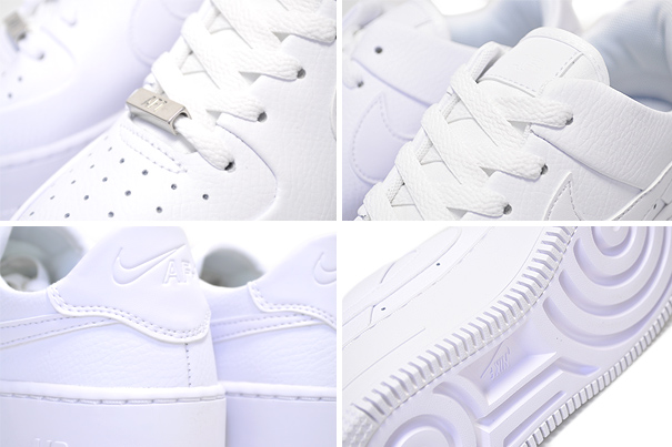 NIKE WMNS AF1 SAGE LOW whitewhite white Nike women air force 1 Seiji AIR FORCE ONE Lady's sneakers white