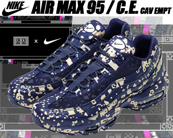 NIKE AIR MAX 95C.E blackened bluedesert ore Cav Empt Kie Ney AMAX 95 C.E. ???? SK8THING ??????????