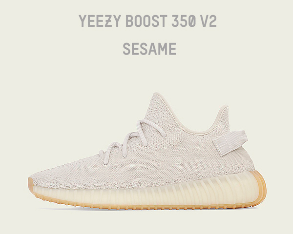 cheap for discount daded 9f543 ADIDAS YEEZY BOOST 350 V2 SESAME sesame/sesame/sesame