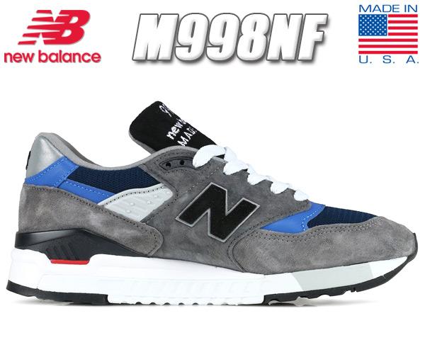 NEW BALANCE M998NF MADE IN U.S.A. 【ニューバランス M998 スニーカー メンズ NB 998 USA】