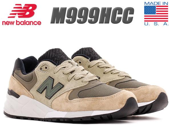 NEW BALANCE M999HCC MADE IN U.S.A. ニューバランス 999 メンズ スニーカー M999 US MADE NB Cross Model Pack
