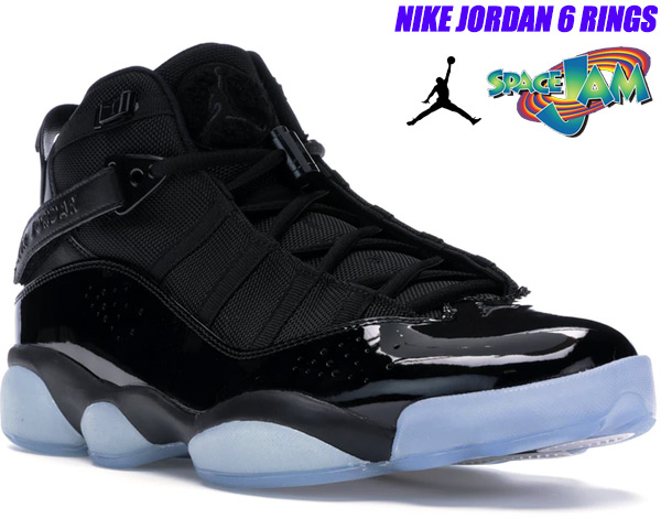 best service ddbb9 7ac06 NIKE JORDAN 6 RINGS SPACE JAM black/black-white 322,992-011 Nike Jordan six  RINGS Co.,Ltd. sneakers basketball shoes AJ SIX RINGS