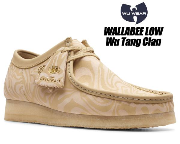 CLARKS WALLABEE LOW Wu Tang Clan MAPLE ERABLE 47058 クラークス ワラビー ロー ウータン・クラン メープルマルチ メンズ Ice Cream Glaciers of Ice メンズ シューズ