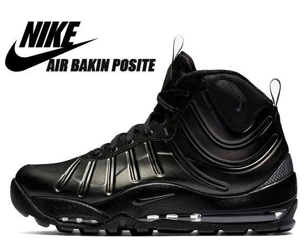 NIKE AIR BAKIN' POSITE black/anthrcite-black-black 618056-001 ナイキ エア ベイキン ポジット ブラック スニーカー ブーツ MAX AIR