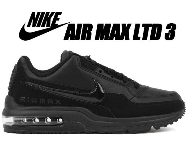 revendeur 46f34 a93d6 NIKE AIR MAX LTD 3 black/black-black 687,977-020 Kie Ney AMAX LTD 3  sneakers Air Max black 687,977-020