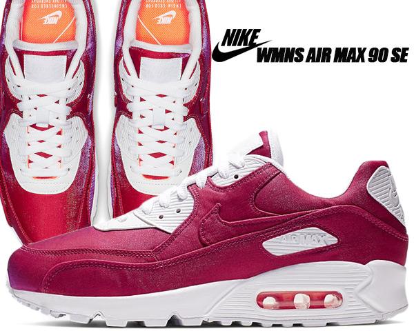 Nike Air Max 90 Womens Hyper Crimson 881105 800