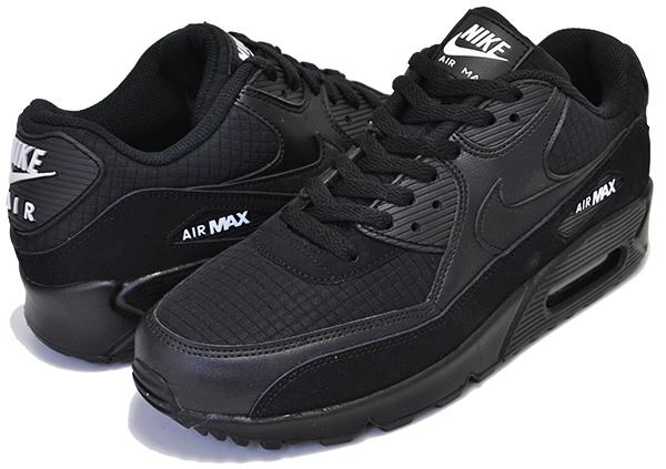 NIKE AIR MAX 90 ESSENTIAL blackwhite aj1285 019 Kie Ney AMAX 90 black white sneakers