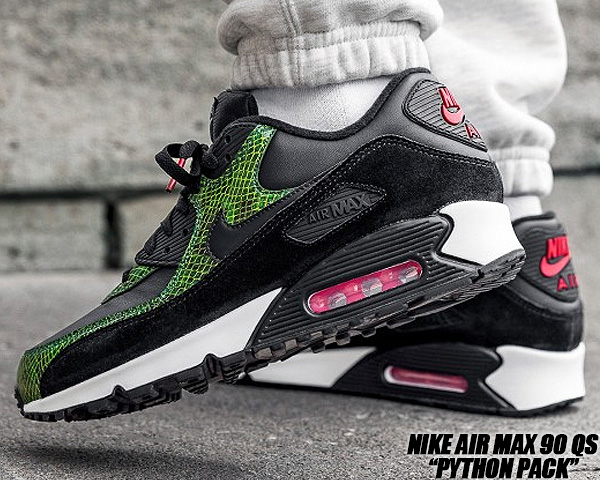 Nike Air Max 90 Green Python CD0916 001 Release Date SBD