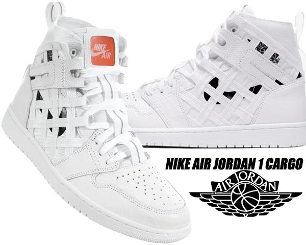 NIKE AIR JORDAN 1 CARGO white/black