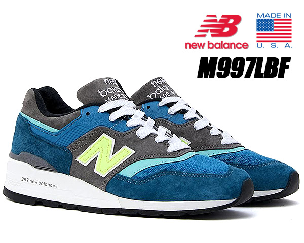 NEW BALANCE M997PAC MADE IN U.S.A. ニューバランス 997 スニーカー NB 997 Dワイズ NEON