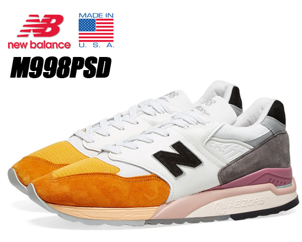NEW BALANCE M998PSD MADE IN U.S.A. Costal Pack ニューバランス 998 スニーカー NB Dワイズ