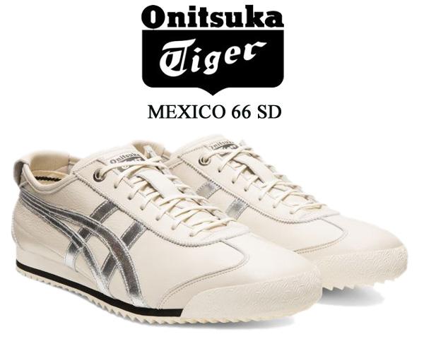 Onitsuka Tiger MEXICO 66 SD BIRCH/SILVER 1183a592-200 オニツカタイガー メキシコ 66 エスディー スニーカー シルバー 鬼塚喜八郎生誕100周年 AmpliFoam
