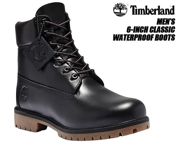 Timberland CLASSIC 6INCH WP BOOT BLACK FULL GRAIN a22wk ティンバーランド 6インチ ブーツ ウォータープルーフ HERITAGE ブラック ガム クラシック