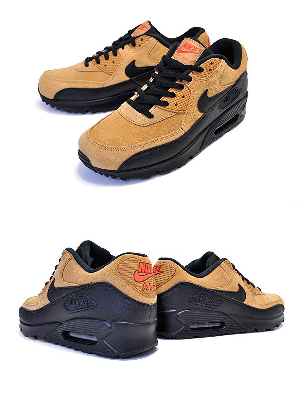 NIKE AIR MAX 90 ESSENTIAL wheatblack cosmic clay aj1285 700 Kie Ney AMAX 90 essential sneakers AM90 ウィートブラウン
