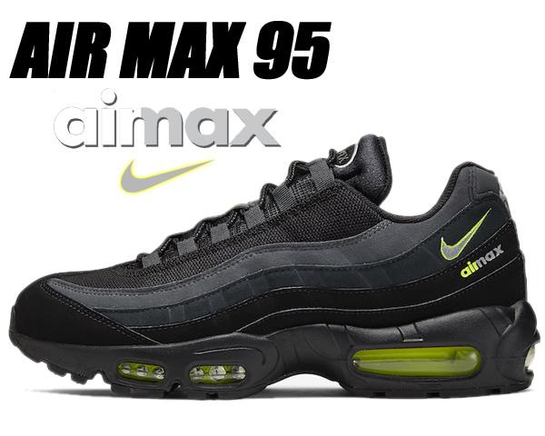 NIKE AIR MAX 95 black/lt smoke grey-volt cv1635-002 ナイキ エアマックス 95 グラデーション ボルト イエロー ブラック