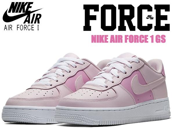 NIKE AIR FORCE 1 GS pink foam/pink foam-white cv9646-600 ナイキ エアフォース 1 ガールズ スニーカー レディース AF1 ピンク