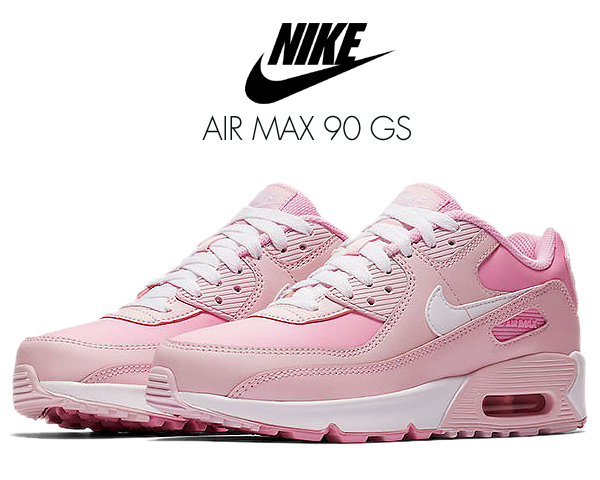 NIKE AIR MAX 90 GS pink foam/white-pink rise cv9648-600 ナイキ エアマックス 90 ガールズ レディース スニーカー キッズ AM90 30th 30周年 ピンク