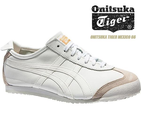 Onitsuka Tiger MEXICO 66 WHITE/WHITE dl408 0101 オニツカタイガー メキシコ 66 スニーカー ホワイト
