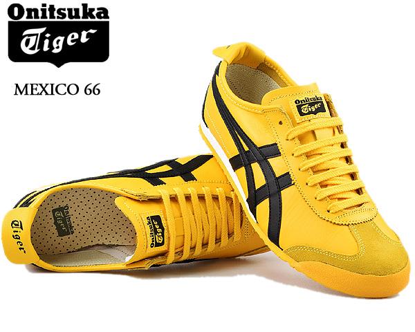 Onitsuka Tiger MEXICO 66 YELLOW/BLACK dl408-0490 オニツカタイガー メキシコ 66 スニーカー イエロー ブラック メンズ キル・ビル Kill Bill レディース