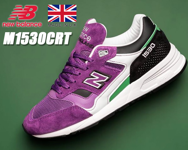 NEW BALANCE M1530CRT Made in England ニューバランス M1530 UK スニーカー NB 1500 30th Anniversary UK 1530 パープル グリーン width D