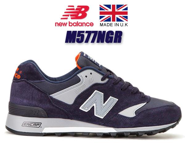 NEW BALANCE M577NGR Made in England ニューバランス M577 UK スニーカー 577 ネイビー レッド width D